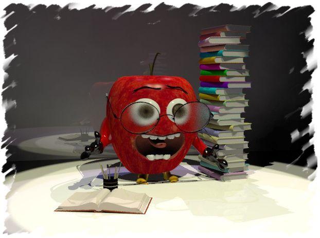 O Μάριος το μελετηρό μήλο