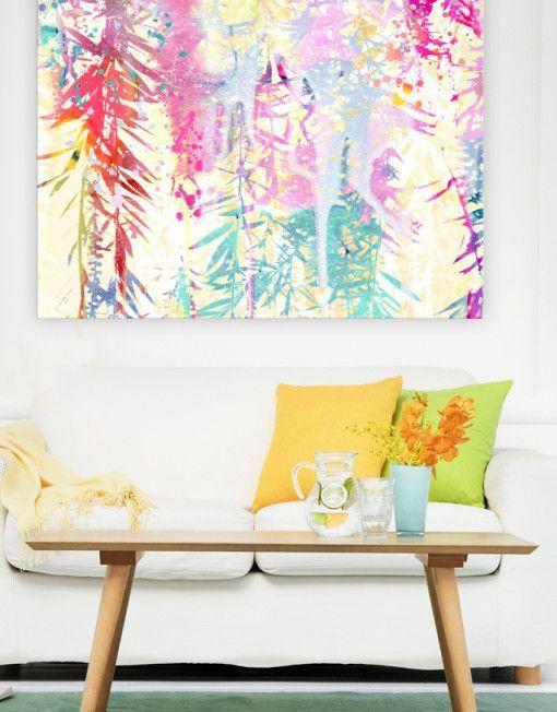 Obras de arte coloridas, Urban Road | Visioninteriorista.com
