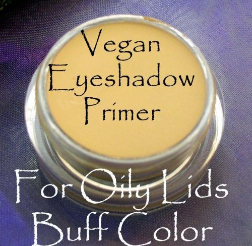 Vegan Oily Lid Eyeshadow Primer in Buff - All Natural Face