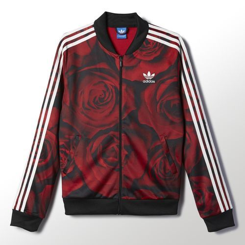 ff0fdf0e3a95 Roses!    adidas - Red Clash Track Jacket