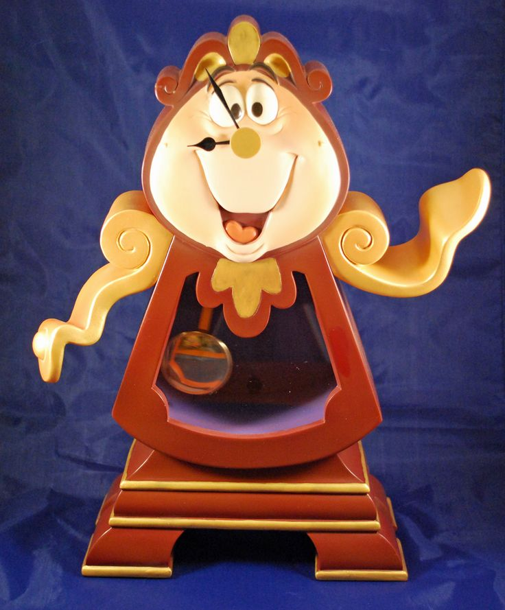 Cogsworth Limited Edition Clock On Collectors Quest
