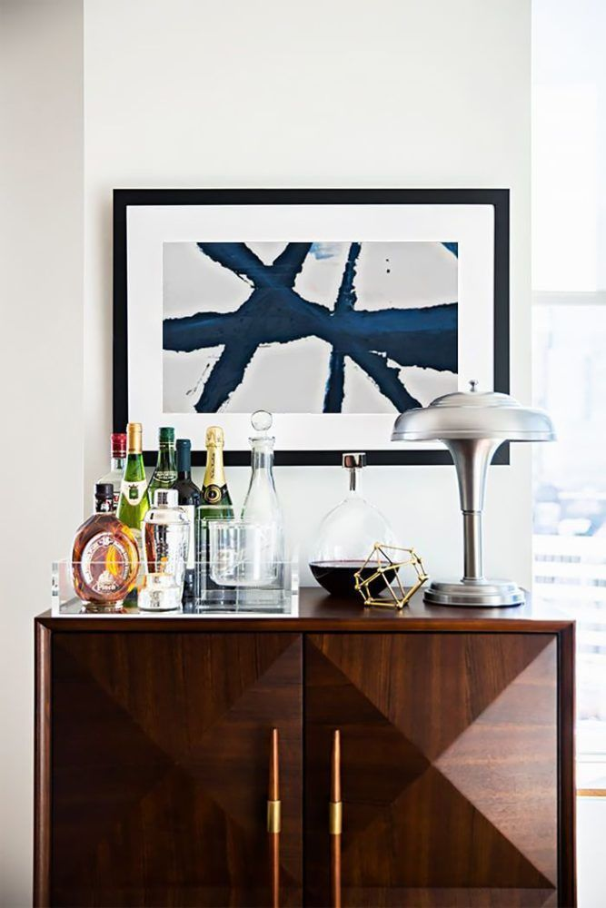 bar cabinet styling   roundup on coco kelley