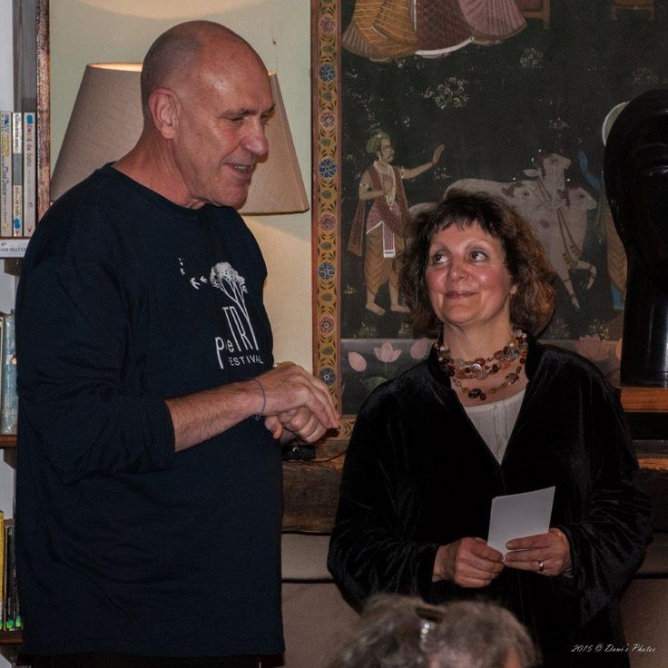 Dani's Photos: Event No 44 Launch of the McGregor Poetry Festival 2014 Anthology at Caritas