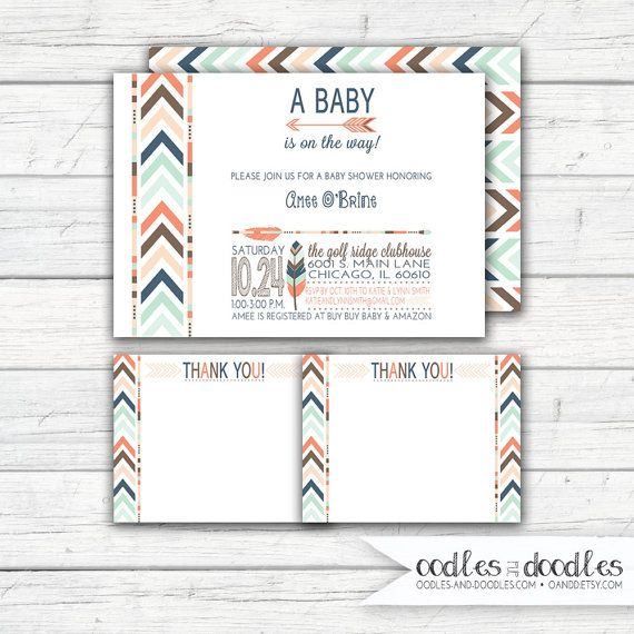 Tribal Baby Shower | Boho Shower | Gender Neutral Shower  Ideas | Tribal Party | Oodles and Doodles, OandD