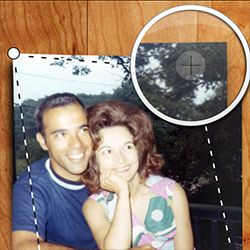 FREE APP:  Turn your phone into a photo scanner. Shoebox from Ancestry.com is the best way to scan old paper photos and save them to your family tree.