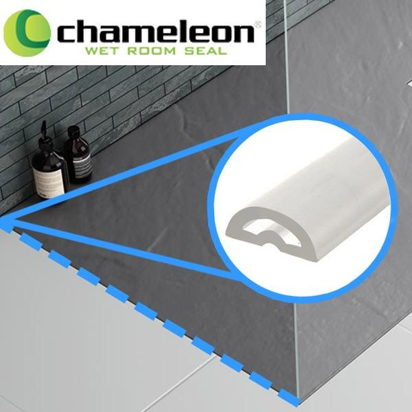The Chameleon universal wet room floor seal is great for preventing water…
