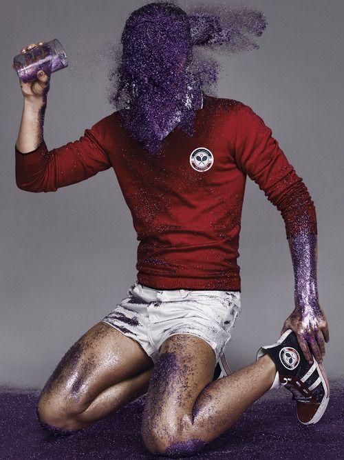 All that Glitters... | Gianfranco FerreArt Photography, Men Style, Menstyle, Purple Glitter, Boys Art, Glitters Gianfranco Ferre, Glitter Man Glitte, Advertisinggf Ferre, Man Style
