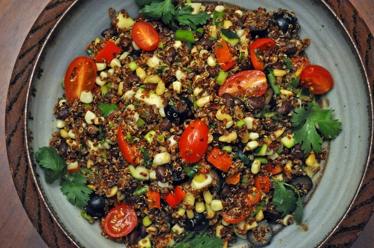 37 Cooks: Southwestern Quinoa Salad with Black Beans and Farm Stand Veggies  from Fresh from the Farm by Susie Middleton. #Recipes #Cookbooks