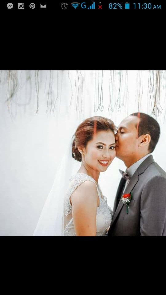"""Agnes is one lucky lucky bride. Elmore took care of all the turn over and details on the day of the wedding. He does not want Agnes to stress. This made me a very luck MUA too as it made my job very easy. Thank you Elmore Louie L. Capili!   His feedback to us """"Thanks CJ for making Agnes beautiful yesterday... Natuwa naman sila at nagpalakpakan. Naging masaya yung wedding namin. We are blessed kasi mababait lahat ng mga suppliers na naging part ng wedding namin including your team...thanks…"""