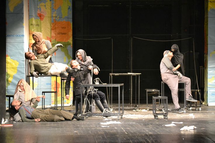 Ex Ponto, an international festival of contemporary theatre, Ljubljana