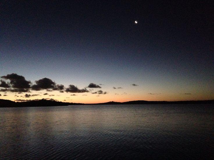 Evening sundowners on the Lake