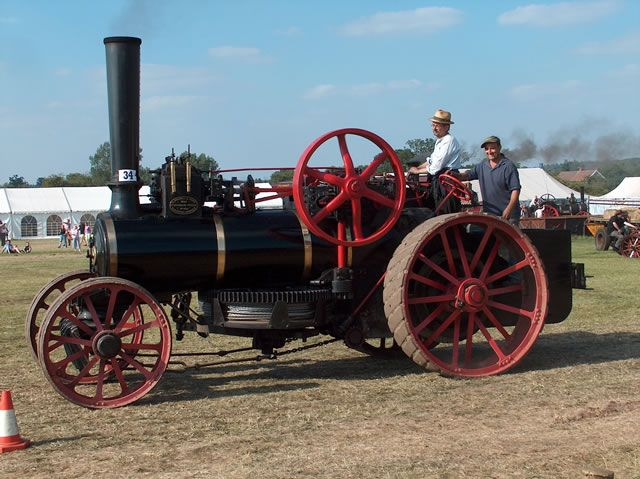 """Burrell Ploughing Engine, 777 """"The Earl"""", Image 5 - Steam Scenes"""