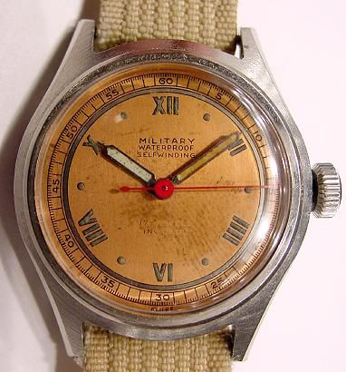 Bulova Watch Vintage Military Watches Movado Watch 3
