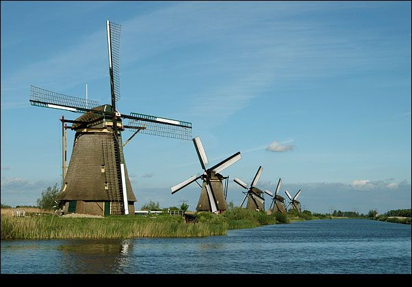 the mill is a dutch landmark, not because the dutch have the most mills. but because it stands  for the fight against the rising water in which the dutch people had to fight since ever. the mills were being used to drive away the water.