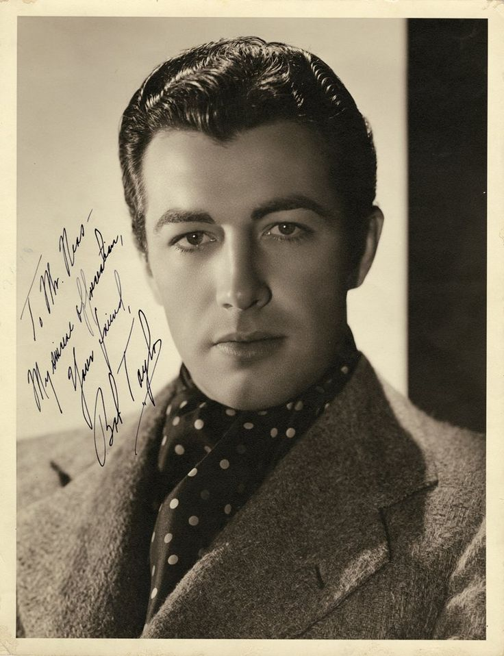 George Hurrell - Robert Taylor