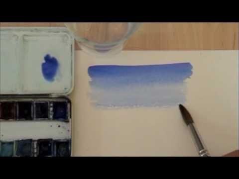 Pittura ad acquerello, i segreti svelati da Pietro Disegna www.corsodipittura.com - YouTube