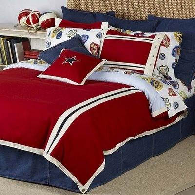 Kael's bedding?