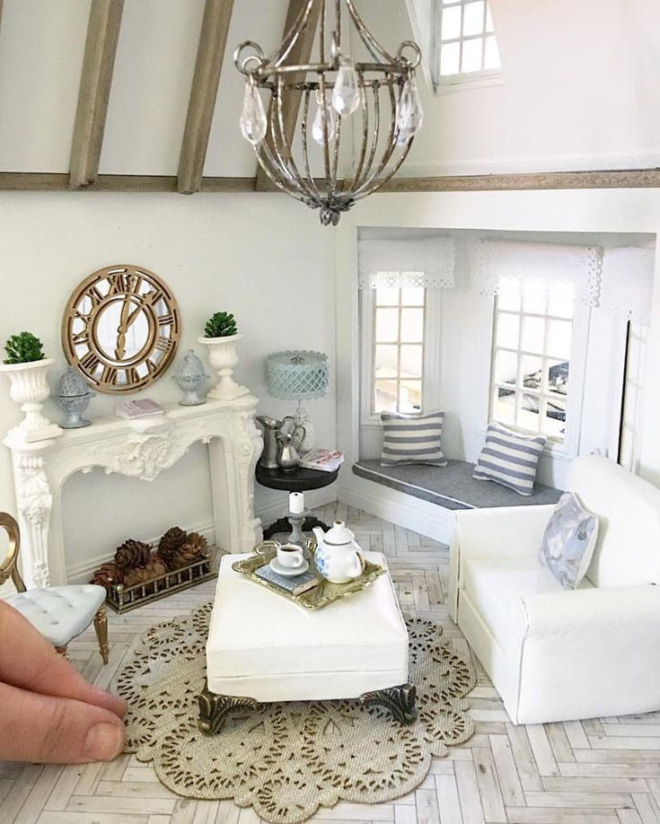 Find This Pin And More On Miniature Livingroom By Minimaria