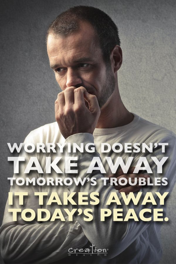 """Excessive worrying affects your mental health and can wreak havoc on your immune system. """"Therefore do not worry about tomorrow, for tomorrow will worry about itself. Each day has enough trouble of its own."""" Matthew 6:34. #Outlook"""