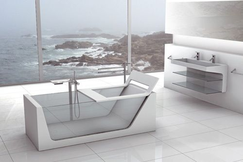 oh would love this bath an view
