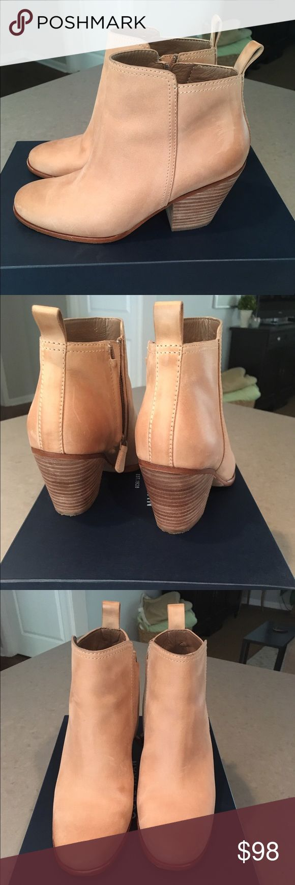 Cole Haan Chesney Bootie. EUC. Worn twice last season. Just too hot in Florida for booties. My loss is your gain. Great style and quality.  Comes with original box. Bough at Cole Haan Store. Not outlet. Cole Haan Shoes Ankle Boots & Booties
