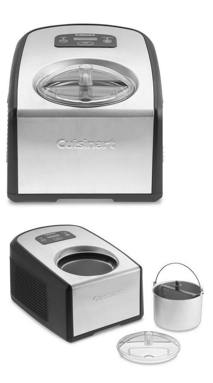 Cuisinart Ice 100 Compressor Ice Cream And Gelato Maker New In Box Gelato Maker Ice Cream Makers Gelato