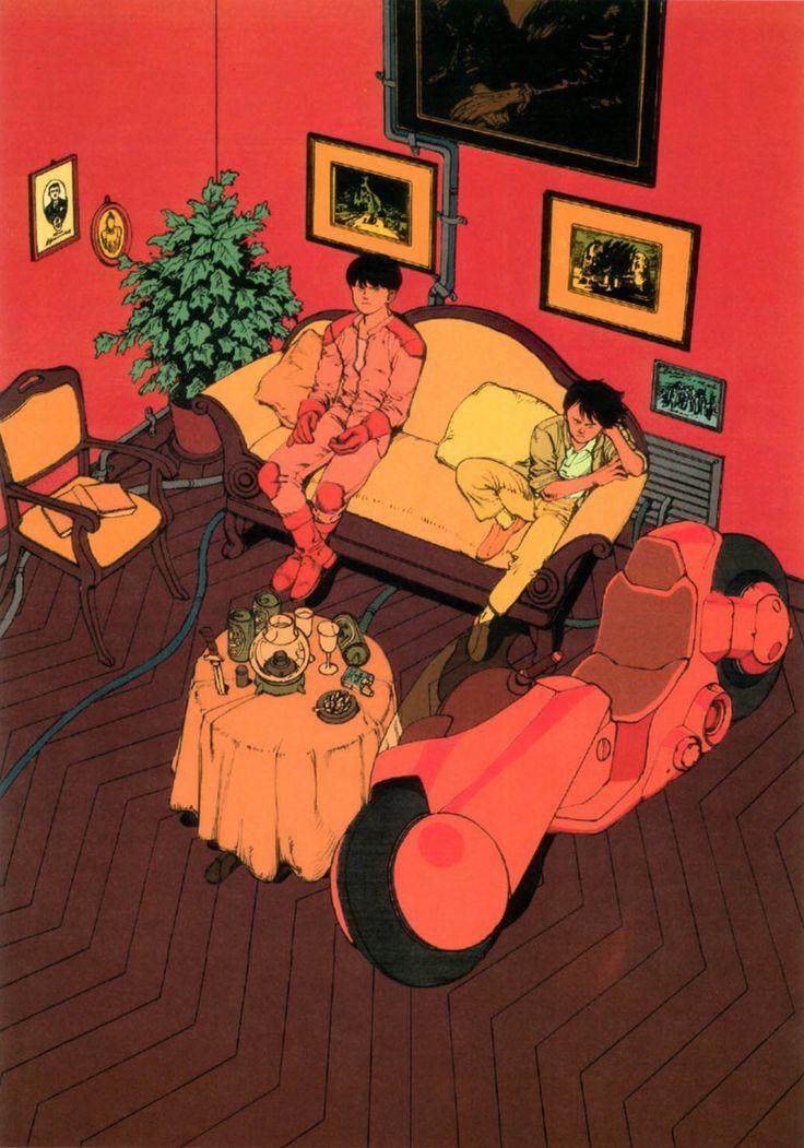 Master Katsuhiro Otomo - Kaneda & Tetsuo
