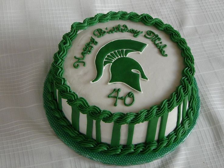 Michigan State Spartans Birthday Cakes