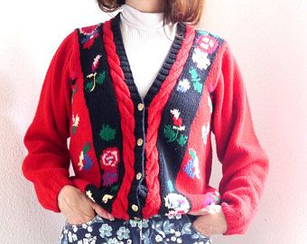 Stricken Sie Strickjacke rot Strickpullover Neuheit folk Damen Strickjacke Baumwolle Leinen Jacke Sportbekleidung outdoor Jacke