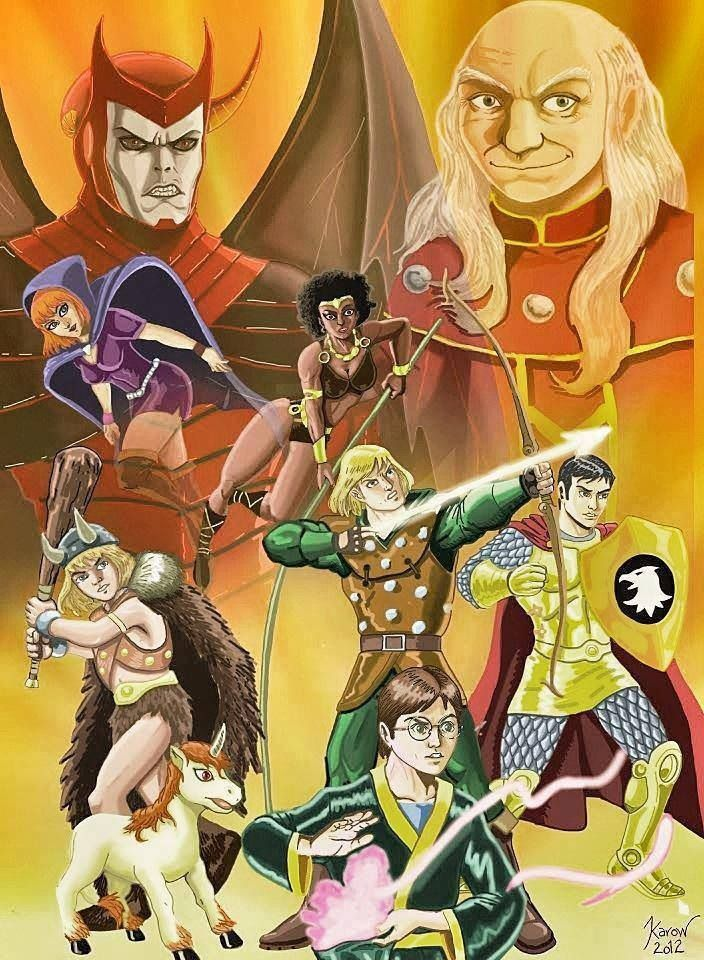Dungeons and Dragons. 80's cartoon