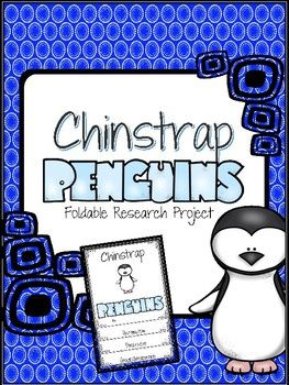 The Chinstrap Penguin Research Foldable is one mini-lesson in a series of Penguin research projects. Students may choose from six websites to research and take notes. Using the notes from student research, students write a report using the cutest foldable.
