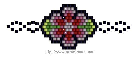 Esquema Flor Marsa 2 | Crearamano.com
