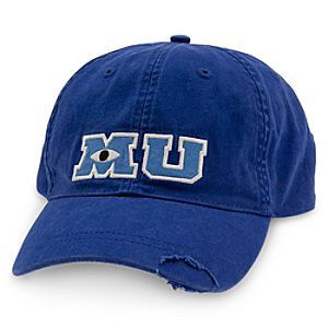 Monsters University Baseball Cap for Adults - it's back online for sale on the Disney Store! http://www.pixarpost.com/2014/10/monsters-university-baseball-hat.html