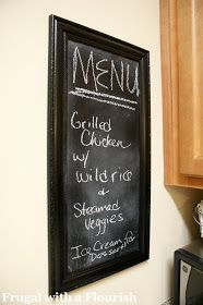Frugal with a Flourish: Nine Things to Use Chalkboard Spray Paint On