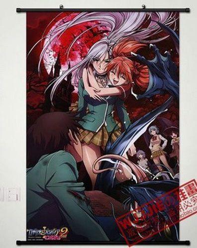 Anime Rosario + Vampire Home Decor Poster Wall Scroll 60*90CM