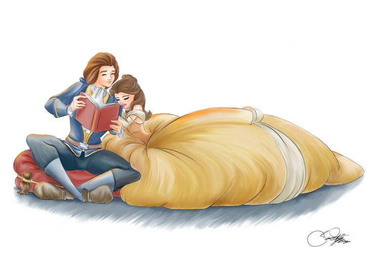 "Belle and Adam by SilverCatseyes.deviantart.com on @deviantART - From ""Beauty and the Beast"""