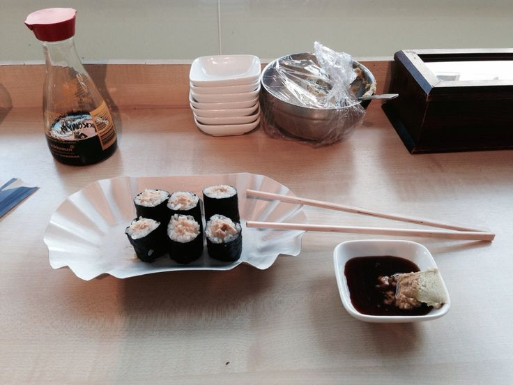 Best #Sushi in town: Find it at Japanese Supermarket Superkato in Frankfurt am Main, #Germany –––––––––––– Full City Guide #Frankfurt: http://www.ponydanceclyde.com/frankfurt-essen-trinken-zehn-lieblingsorte/