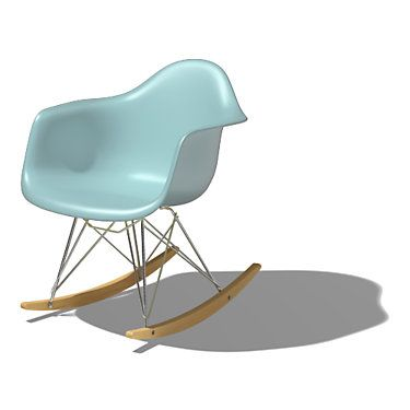Herman Miller Eames Molded Plastic Rocking Chair in my favorite color