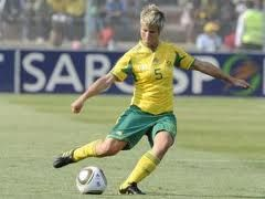 "Janine ""Mlungu Booth"" Van Wyk: She is definitely the greatest defender of all time to emerge out of the African continent. A barrier in the banyana defense,not only is Janine Van Wyk a classy defender but a technically gifted player as well.She was named the 2011 COSAFA Women's Championship Best Player #Lays #Sportipedia #MostActiveFan"