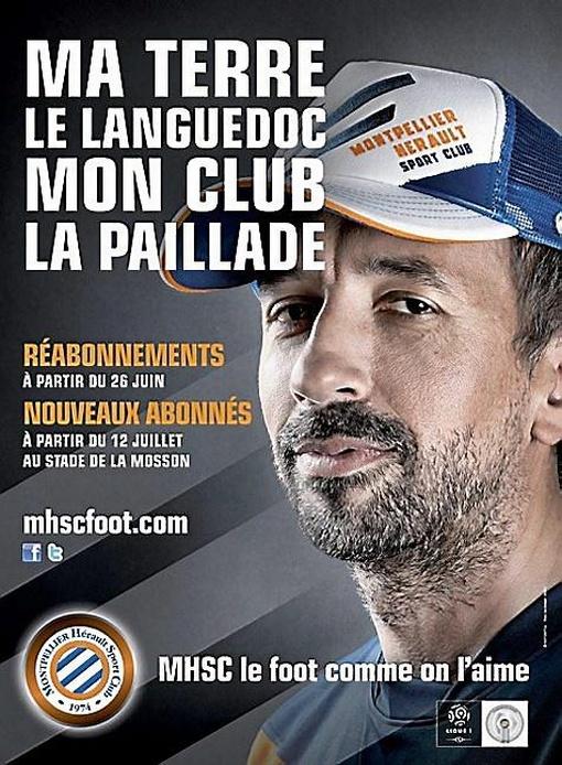 """""""Ma terre le Languedoc, mon club la Paillade"""" #MHSC 2012"""