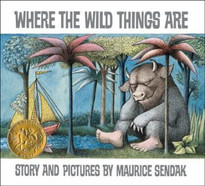 """Gr.K-3: The night Max wore his wolf suit and made mischief of one kind or another his mother called him """"WILD THING!"""" and Max said """"I'LL EAT YOU UP!"""" so he was sent to bed without eating anything."""