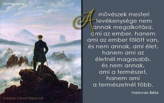 Legszebb idézetek az alkotásról: Hamvas Béla