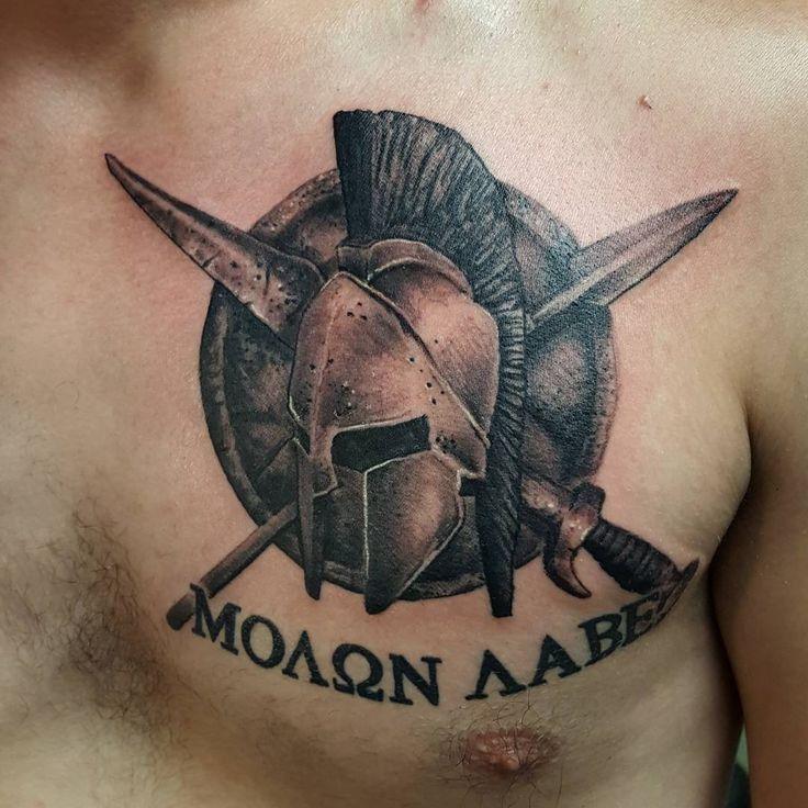 65 Legendary Spartan Tattoo Ideas