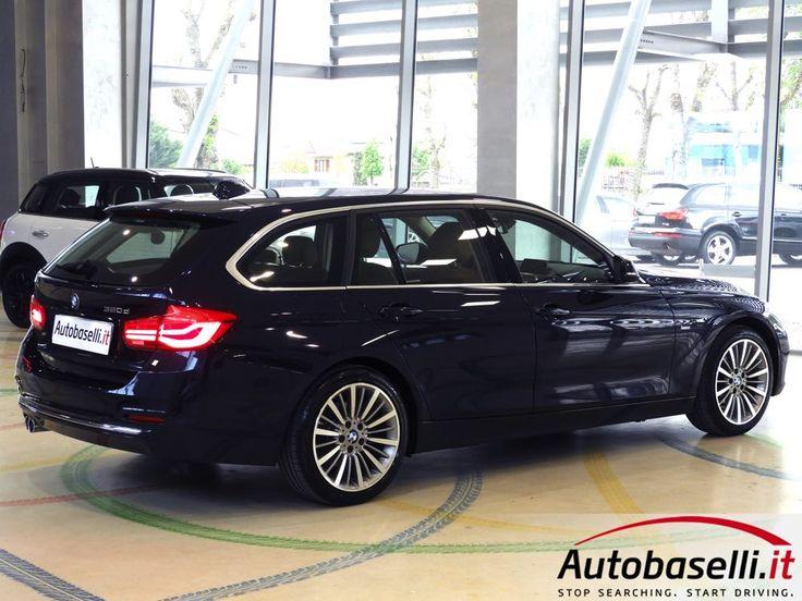 BMW 320 D TOURING LUXURY AUTOMATICA 190 CV Cambio automatico + Navigatore + Interni in pelle + Fari full led + Bluetooth + Cerchi in lega 18 + Comandi al volante + Park distance control ant/post + Cruise control + Radio cd + Garanzia Bmw + Unico proprietario + del 2016