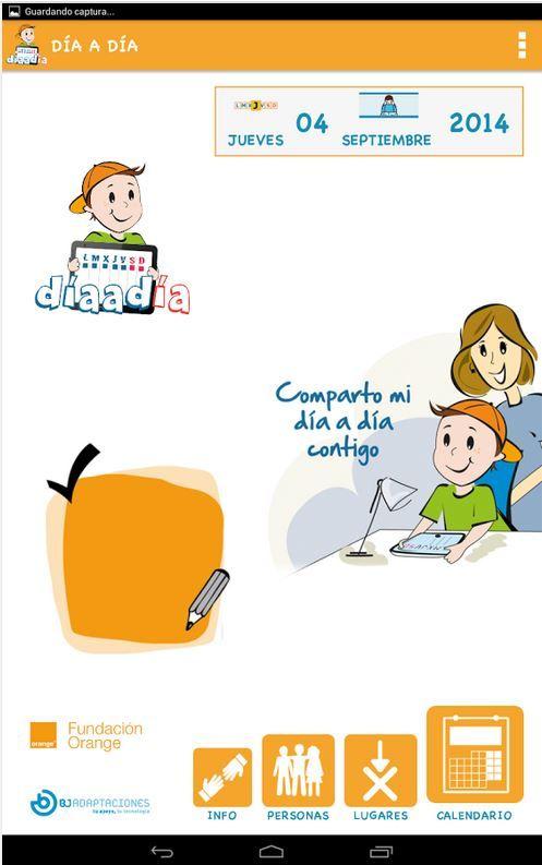 """""""Día a día"""", el diario visual de la Fundación Orange y BJ Adaptaciones (Android, iPad y iPhone).   http://informaticaparaeducacionespecial.blogspot.com.es/2014/12/dia-dia-el-diario-visual-de-la.html"""