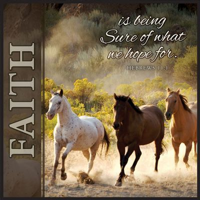 Godly Wallpaper Quotes Faith Is Being Sure Horse Print Horse Pictures With