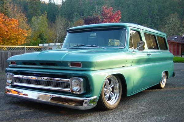 pin 1966 chevy suburban - photo #32