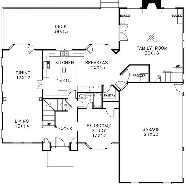 Plan 2053GA: Dramatic Two Story Foyer Design