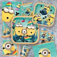 Despicable Me Birthday Party Supplies - idea for 5th birthday party