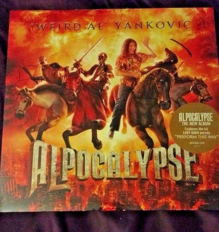 WEIRD AL YANKOVIC Alpocalypse Vinyl LP sealed